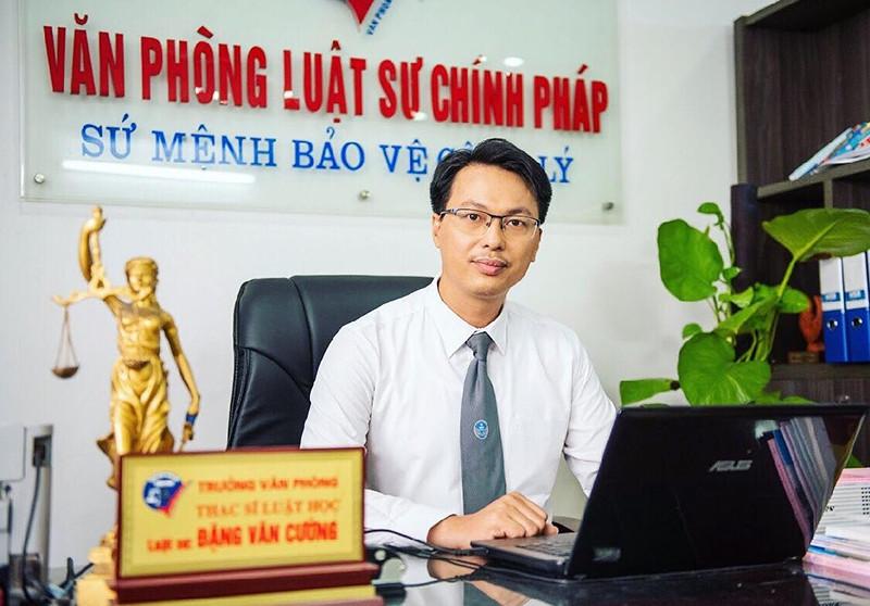 Luật sư Đặng Văn Cường - Đoàn Luật sư TP Hà Nội
