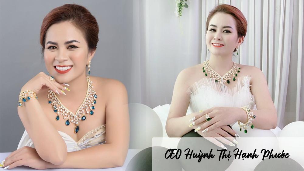 CEO Huỳnh Thị Hạnh Phước - Người phụ nữ thành công trong kinh doanh vàng