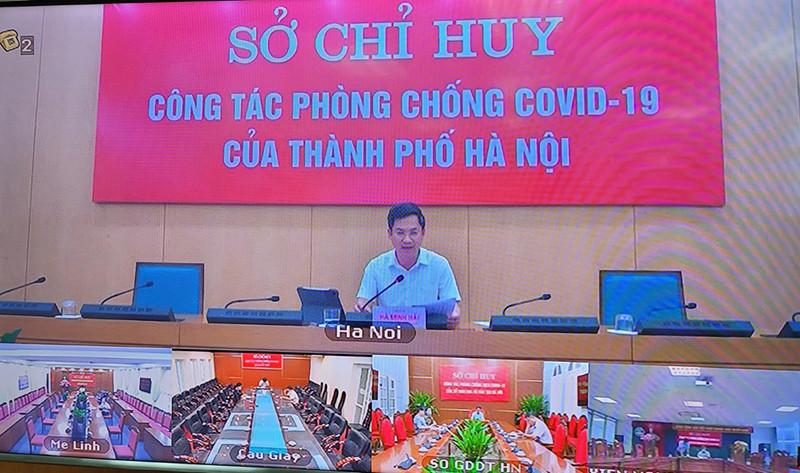 Phó Chủ tịch UBND TP Hà Nội Hà Minh Hải: Tuyệt đối không được chủ quan, cần thực hiện nghiêm 8 nguyên tắc phòng chống dịch tại Chỉ thị 22