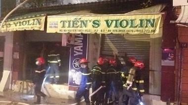 TP Hồ Chí Minh: Cháy nhà 2 người tử vong