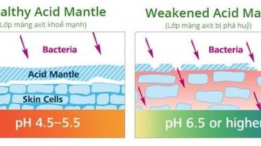 Tips chăm sóc màng Acid Mantle đúng cách