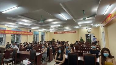 Hải Dương: 25 thanh niên dương tính với ma túy trong quán karaoke giữa mùa dịch Covid-19
