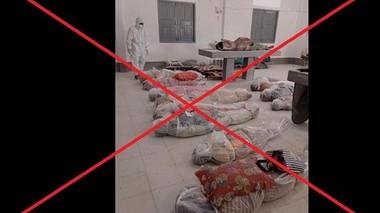 Hình ảnh xác chết do Covid-19 tại TP Hồ Chí Minh là tin giả