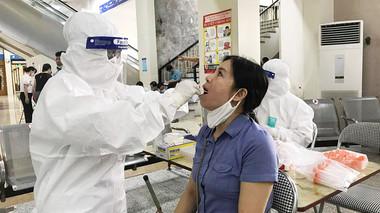 Sáng 19/7, Hà Nội thêm 16 ca dương tính với SARS-CoV-2