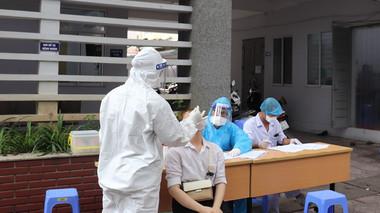Sáng 30/7, Hà Nội có thêm 17 ca dương tính với SARS-CoV-2