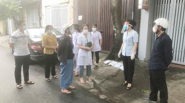 Quận Bắc Từ Liêm tạm thời phong tỏa, đóng cửa chợ đầu mối Minh Khai vì liên quan đến ca nhiễm Covid-19