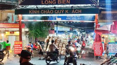 Hà Nội: Cách ly tại nhà với người từng đến ngõ 187 đường Hồng Hà và chợ Long Biên