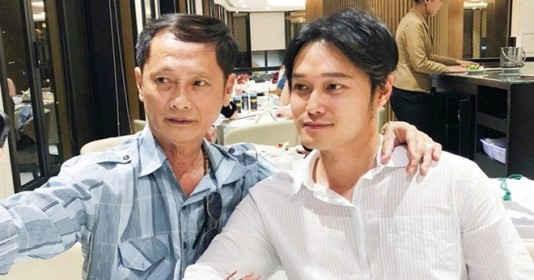 Sau phủ nhận xuất thân trâm anh thế phiệt, Quang Vinh lần đầu công khai hé lộ hình ảnh bố