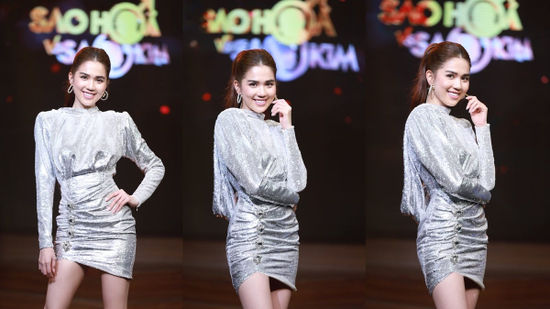 Lần đầu tham gia gameshow, Ngọc Trinh chiếm trọn spotlight vì quá xinh đẹp và chịu chơi