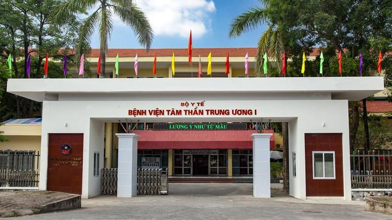 Cách chức Giám đốc Bệnh viện Tâm thần Trung ương 1